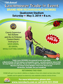 Lawnmower Trade-In Event 2014