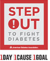 Step Out to fight diabetes